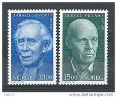 Norvège 1997 N°1218/1219 Neufs** Célébrités - Unused Stamps
