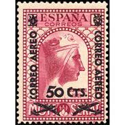 ES783STV-LTV***783STAN.Spain.Esgane .Transporte De Avion.VIRGEN DE MONTSERRAT AEREO.1938(Ed 783**) - 1931-50 Ungebraucht