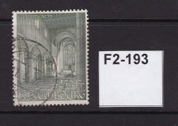 Luxembourg 1953 Echternach Abbey Restoration (3rd Issue) 2F50