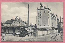 67 - SCHILTIGHEIM - Brauerei Zum FISCHER - Brasserie - Train - Locomotive - Wagons - Voie Ferrée - Schiltigheim