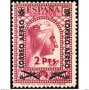 ES786STV-LTV***786STAN.Spain.Esgane .Transporte De Avion.MONTSERRAT AEREO.1938(Ed 786**) - 1931-50 Nuevos & Fijasellos