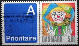 Denmark 2002 Europa CEPT   Minr.1311  (O)  Zirkus Du Cirque Circus Clown ( Lot  B 2006 )