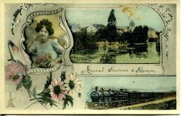 N°33900 -cpa Amical Souvenir D'Alençon - Alencon