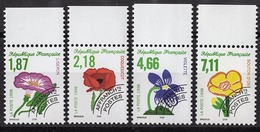 FRANCE  1994 / 2007 - SERIE  Y.T. N° 240 A 243  - 4 PREO NEUFS** - Préoblitérés