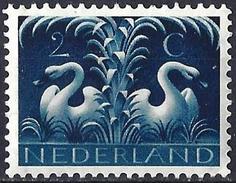 Netherlands 1943 - Swans ( Mi 407 - YT 397 ) MNH** - Cigni