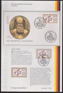 Mathematik 319) BRD 1992 Mi# 1612 FDC Sammelblatt: 500. Geburtstag Adam Riese - Wissenschaften