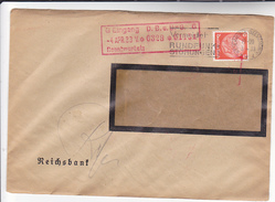 1933 GERMANY Stamps WESERMUNDE SLOGAN Pmk AVOID BROADCASTING INTERFERANCE Radio - Germany