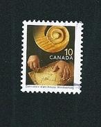 N° 1656 Metier Et Savoir Faire, Ébénisterie   TIMBRE Canada (2004) Oblitéré
