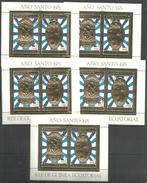 Guinea - CTO -  Art - Paintings - Religious - Gold