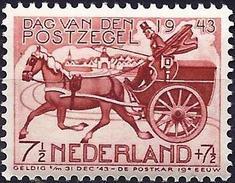 Netherlands 1943 - Stamp Day : Mailcoach ( Mi 422 - YT 412 ) MNH**