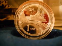 "AUSTRALIA 1 DOLLAR 2000 SILVER PROOF ""HMAS SYDNEY II "" - Mint Sets & Proof Sets"