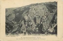 Tarn -ref- A307 - Saint Amans Valtoret - St Amans Valtoret - Gorges De L Arn Au Hameau Du Banquet - Hameaux - - Francia