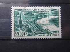 BEAU TIMBRE DE POSTE AERIENNE DE FRANCE N° 25 , XX !!! - 1927-1959 Nuevos