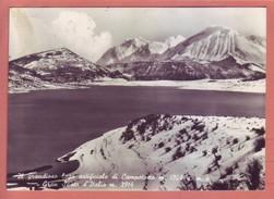L'Aquila - Lago Artificiale Di Campotosto. Gran Sasso, Viaggiata 1957 - L'Aquila