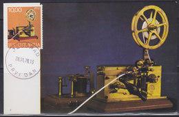Yugoslavia 1978 Museum Exhibits - Postal Museum - Old Telegraph, CM (Carte Maximum) Michel 1719 - Maximum Cards