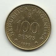 1979 - Argentina 100 Pesos, - Argentina