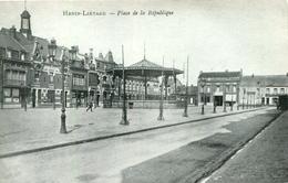 AK Hénin-Liétard 1916 Place De La République - Platz Der Republik / In Der Nähe: Hénin-Beaumont Béthune Lens Douai Arras - Henin-Beaumont