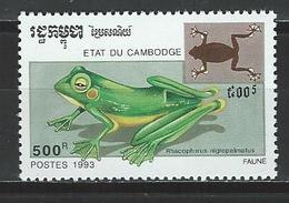 Kambodscha Mi 1352 ** MNH Rhacophorus Nigropalmatus