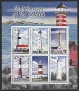 Grenada (2001) Yv. 4122A/22F  /  Leuchtturm - Faro - Phares - Lighthouses - Phares