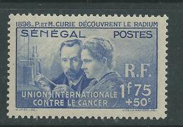 Sénégal  N° 149 X  Pierre Et Marie Curie Trace De Charnière, SinonTB