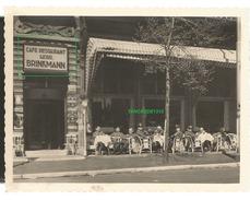 WW2 PHOTO ORIGINALE Soldat Allemand Café Brinkmann HAARLEEM NEDERLANDEN - 1939-45