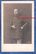 CPA Photo - Portrait Du Poilu Viard - Voir Uniforme Médaille Croix De Guerre & Mini Fourragère - 1919 - WW1 - Guerra 1914-18