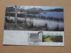 Lake McKenzie, Fraser Island / Canberra A C T 2600 () ( Australia Post Stamps ) 4 March 1993 ( Zie Foto Voor Details ) ! - Cartes-Maximum (CM)