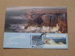 Zuytdorp Cliffs, SHARK Bay / Canberra A C T 2600 () ( Australia Post Stamps ) 4 March 1993 ( Zie Foto Voor Details ) ! - Cartes-Maximum (CM)