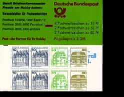 Markenheftchen Bund Postfr. MH 24 E K1 MZ - [7] République Fédérale