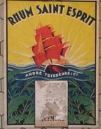 CALENDRIER RHUM SAINT ESPRIT ANDRE TEISSEDRE ET CIE ANNEES 1930 - Posters