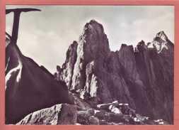 Pietracamela (AQ) - Gran Sasso, Il Corno, Viaggiata 1958 - L'Aquila