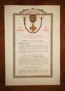 Rare  219° R.I  / CROIX De GUERRE POILU  De  1914 - 1918 - 1914-18