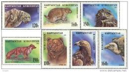 Kirgistan 1995 MNH** Mi. Nr. 54-60 A
