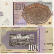 MACEDONIA. 100 Denari  P16j   2013  UNC. - Macedonia