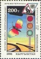 Kirgistan 1995 MNH** Mi. Nr. 53 Road Safty Week