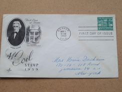 4 1/2 C COIL Stamp 1959 / DENVER 1 May 1959 ( Zie Foto Voor Details ) ! - 1951-1960