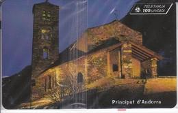 AND-113 TARJETA DE ANDORRA SAN JOAN DE CASELLES (NUEVA-MINT) - Andorra