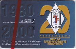 AND-114 TARJETA DE ANDORRA RADIOAFICIONADOS (NUEVA-MINT) - Andorra