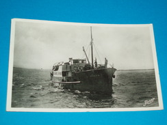 "85 ) Ile D'yeu N° 117 - Carte Photo - Paquebot "" Insula Oya   - 1918 - EDIT - Nozais - Ile D'Yeu"
