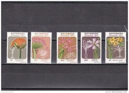 Botswana Nº 345 Al 349 - Botswana (1966-...)