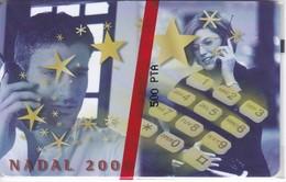 AND-120 TARJETA DE ANDORRA NADAL 2000 (CHRISTMAS) NUEVA-MINT - Andorra