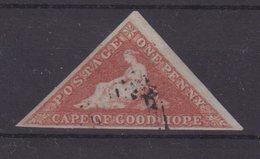 CAP DE BONNE ESPERANCE : N°1 . OBL . 1853 . - South Africa (...-1961)