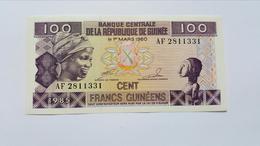 GUINEA 100 FRANCS 1985 UNC - Guinée