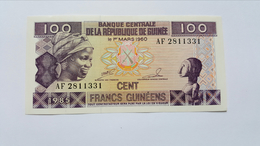 GUINEA 100 FRANCS 1985 UNC - Guinea