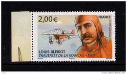 France 2009- Un Timbre PA N°72** Tiré Du Feuillet F72** (72a**) Louis Blériot Traversée De La Manche 2.00 € BDF