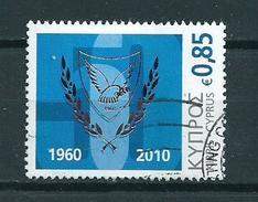 2010 Cyprus 50 Years Zypern Used/gebruikt/oblitere
