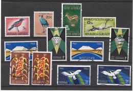 Africa Del Sur. Conjunto De Series Y Sellos Con Valor De 46.5 Euros - África Del Sur (1961-...)
