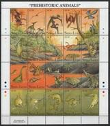 Sierra Leone (1992) Yv. 1483/02  /   Dinosaurs - Dinosaurios - Dinosaures - Dinosauros - Prehistorisch