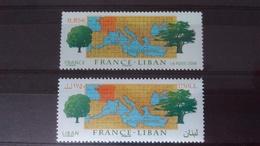 FRANCE - LIBAN 2008 N°4323 Et N°444 - Neufs - Emissions Communes