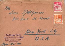 23193. Carta SULZFELD (Zona Anglo Americana Ocupation) 1948 - Bizone